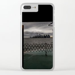 Doorway to NYC Clear iPhone Case