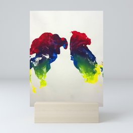 Fowl Talk Mini Art Print