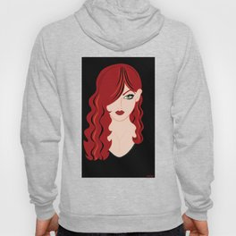 Red Woman Hoody