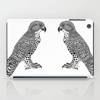 falcon iPad Cases featuring Falcon by LegendOfZeldy