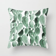 Perfect Desert Cactus Bunch Throw Pillow