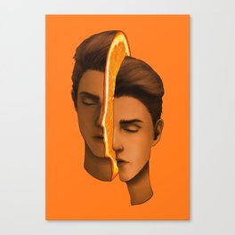 Orange slice boi Canvas Print