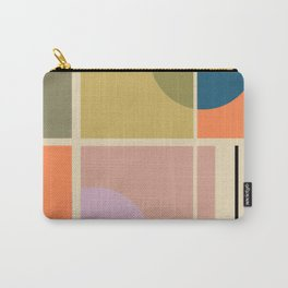 Modern geometric shapes Carry-All Pouch