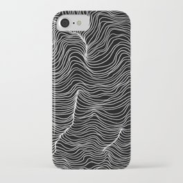Inverted Waves iPhone Case