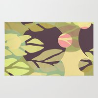 jungle Area & Throw Rugs featuring Jungle by VessDSign