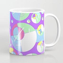 Bubble Purple Coffee Mug