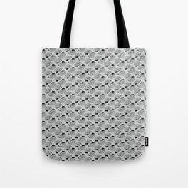 Braaains (black on grey) Tote Bag
