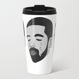drake crying (b&w) Travel Mug