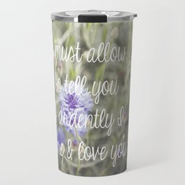A morning walk to Meryton Travel Mug