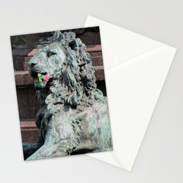 Lion in Vienna Stationery Cards