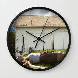 Giantess Wall Clock