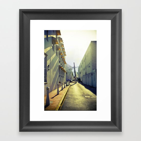 South Beach Sunrise Framed Art Print