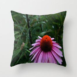 Stand Tall and Alone Throw Pillow