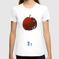 charlie brown T-shirts featuring That's no pumpkin Charlie Brown! by Robotic Ewe