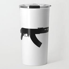 AK-47 kalashnikov assault rifle #society6 #decor #buyart #artprint Travel Mug