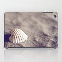 seashell iPad Cases featuring Seashell by Dena Brender Photography