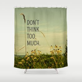 Travel Like A Bird Without a Care Shower Curtain