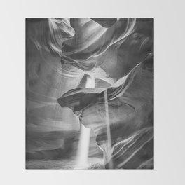 ANTELOPE CANYON V / Arizona Desert Throw Blanket
