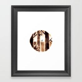 The Fireboy #1 Framed Art Print
