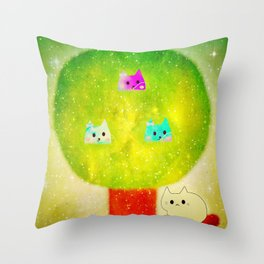 cats 602 Throw Pillow