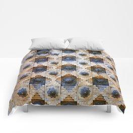 Wood Door Texture Comforters