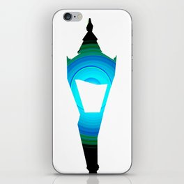 Concentric Lamppost  iPhone Skin
