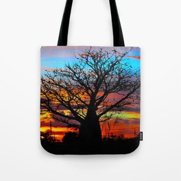 Candy Coloured Boab Tote Bag