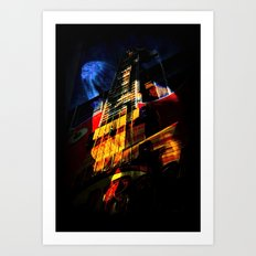 Kinetic Art Print