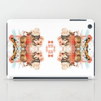 foxes iPad Cases featuring Foxes by Edward Yeung
