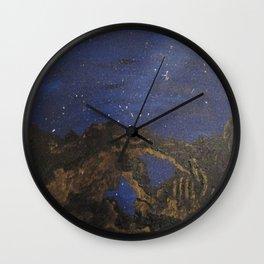 Utah Rocks Wall Clock