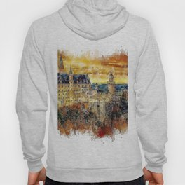 Architecture Castle Fairy Hoody