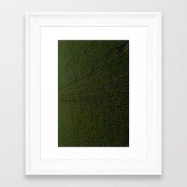 Rural Corn Fields Framed Art Print