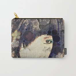 I'm with Wig Floral Carry-All Pouch