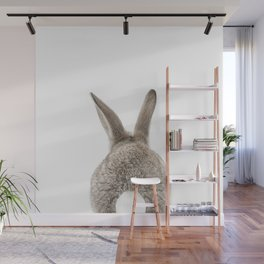 Bunny Tail Wall Mural