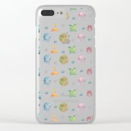 Kawaii Monsters Clear iPhone Case