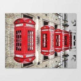 Telefon Canvas Print
