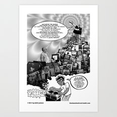 Musical Mystery Tour Art Print