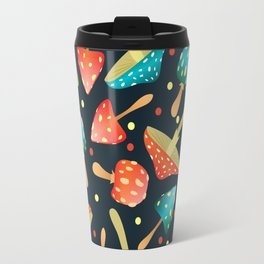 Bright mushrooms Travel Mug