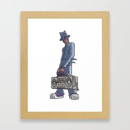 Its Bigger than Hip Hop Framed Art Print