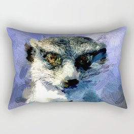 Erdmaennchen Rectangular Pillow