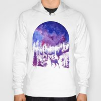 starry night Hoodies featuring Starry Night by Ricardo Moody