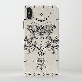 Magical Moth iPhone Case