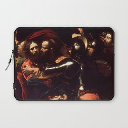 The Taking of Christ by Caravaggio (1602) Laptop Sleeve