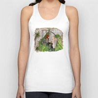 mortal instruments Tank Tops featuring The Mortal Instruments by Naineuh
