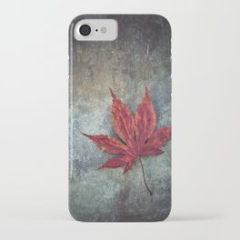 Maple leaf iPhone Case