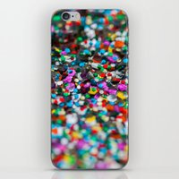 confetti iPhone & iPod Skins featuring Confetti by Laura Ruth
