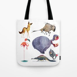African animals 3 Tote Bag