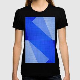 Lapis Lazuli Shapes - Cobalt Blue Abstract T-shirt