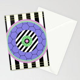Bold Pastel Geometry Stationery Cards