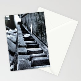 Forgotten Piano Stationery Cards